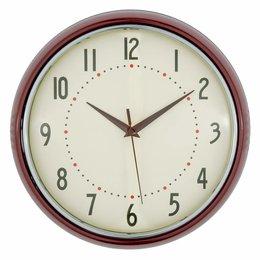 Clayre & Eef Clock Ø 28*8 cm / 1xAA