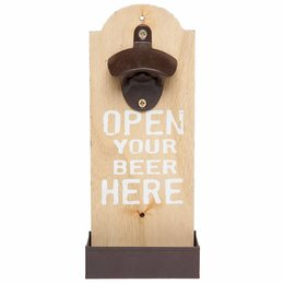 Clayre & Eef Bottle opener 11*5*25 cm
