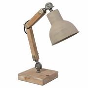 Clayre & Eef Desk light 15*15*47 cm / E27/max. 1x60Watt