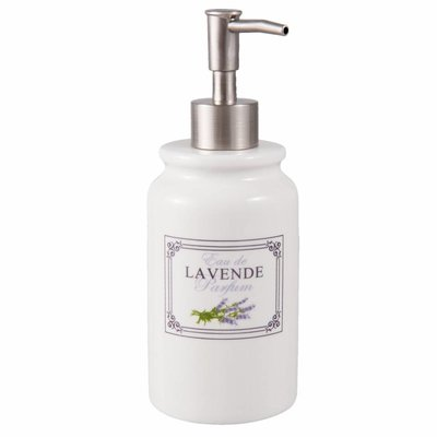 Clayre & Eef Soap dispenser Ø 8*20 cm