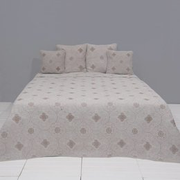 Clayre & Eef Q177.060 Bedsprei Stone washed