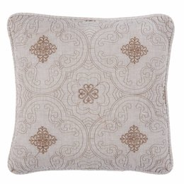 Clayre & Eef Cushion cover stonewashed 40*40 cm