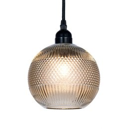 Clayre & Eef Pendant light Ø 15*19 cm / E27 / Max. 1x 40 Watt