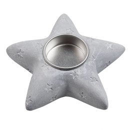 Clayre & Eef Tealight holder 13*13*4 cm