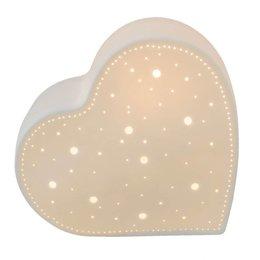 Clayre & Eef Table lamp 20*9*18 cm / E27 / Max. 1x30Watt