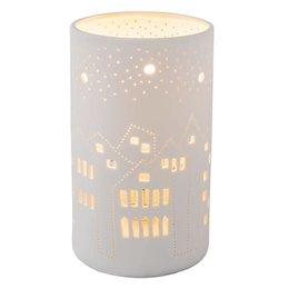 Clayre & Eef Table lamp Ø 12*20 cm / E27 / Max. 1x30Watt