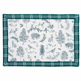 Clayre & Eef WF40 Placemats (set 6)