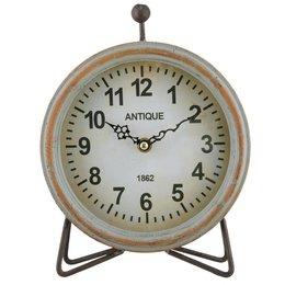Clayre & Eef Clock 19*6*24 cm / 1xAA
