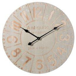 Clayre & Eef Clock Ø 60*5 cm / 1xAA