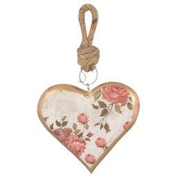 Clayre & Eef Hanger heart 12*2*11 cm