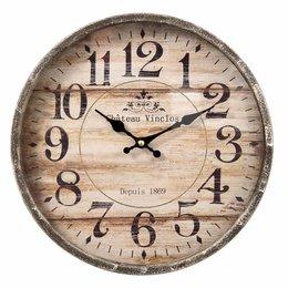 Clayre & Eef Clock Ø 30*6 cm / 1xAA