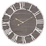 Clayre & Eef Clock Ø 71*6 cm / 1xAA