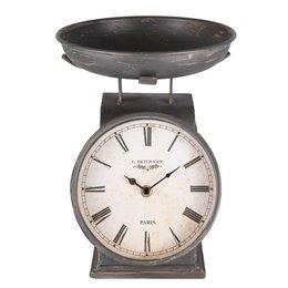 Clayre & Eef Clock 21*23*26 cm / 1xAA