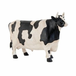 Clayre & Eef Decoration cow 24*7*17 cm