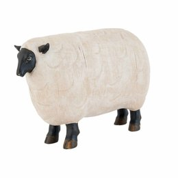Clayre & Eef Decoration sheep 23*7*15 cm