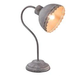 Clayre & Eef 6LMP553DG Bureaulamp
