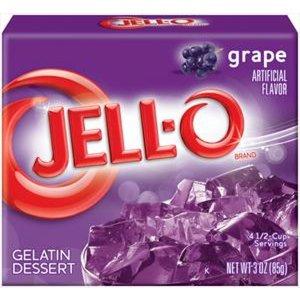JELL-O Grape Gelatine Dessert