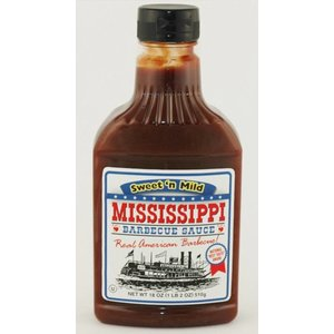 Mississippi Barbecue Sauce Sweet & Mild