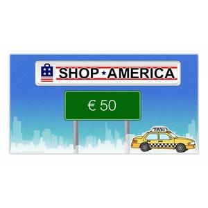 Shop America €50 cadeaukaart