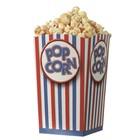 Popcorn vouwbeker - XL set van 10