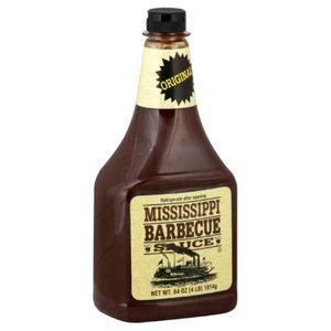 Mississippi BBQ Sauce Original super voordeel fles