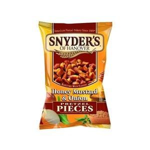 Snyders of Hanover Pretzel Pieces Honey Mustard and Onion 125 gram