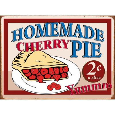 Tin sign Homemade Cherry Pie 40x30