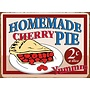 Tin sign Homemade Cherry Pie 40x30