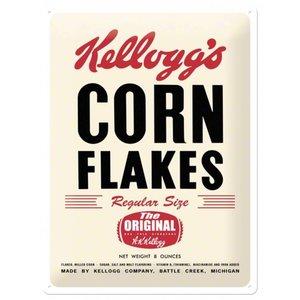 Nostalgic Art Tin Sign Kelloggs Corn Flakes retro 30x40