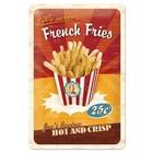Nostalgic Art Tin Sign French Fries 20x30