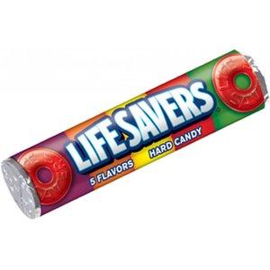 Lifesavers 5 flavors hard candy rol 32 gram