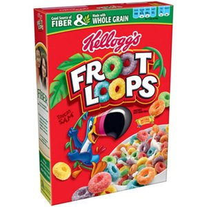 Kelloggs Froot Loops Cereals USA GROOT 481 gram