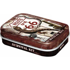 Nostalgic Art Pillendoosje Route 66 Survival Kit