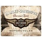 Nostalgic Art Tin Sign Harley Davidson Motorcycles 40x30