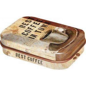 Nostalgic Art Pillendoosje Best Coffee in Town
