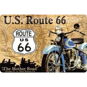 Nostalgic Art Tin Sign U.S. Route 66 The Mother Road 30x20