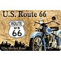 Nostalgic Art Tin Sign U.S. Route 66 The Mother Road 30x20