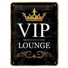 Nostalgic Art Tin Sign VIP Lounge 15x20