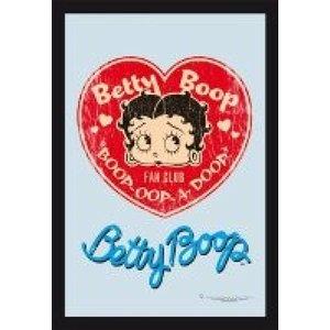 Bedrukte spiegel Betty Boop Fan Club