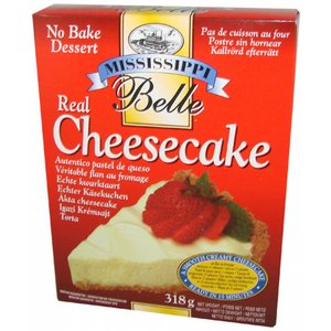 Mississippi Belle No Bake Real Cheesecake Dessert