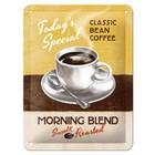 Nostalgic Art Tin Sign Morning Blend Coffee 15x20