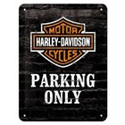 Nostalgic Art Tin Sign Harley Davidson Parking Only 15x20