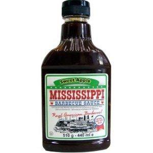 Mississippi Barbecue Sauce Sweet Apple 18oz/510 gram