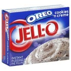 JELL-O Oreo Cookies n Creme Instant Pudding and Pie Filling