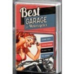 Nostalgic Art Metalen aansteker Best Garage Red