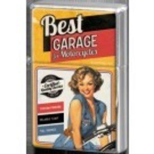 Nostalgic Art Metalen aansteker Best Garage Yellow