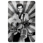 Nostalgic Art Tin Sign Elvis - Rock'n Roll Baby 20x30