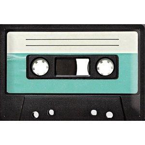 Nostalgic Art Tin Sign Retro Cassette 30x20
