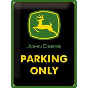 Nostalgic Art Tin Sign John Deere Parking Only 30x40