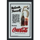 Bedrukte spiegel Drink Coca Cola